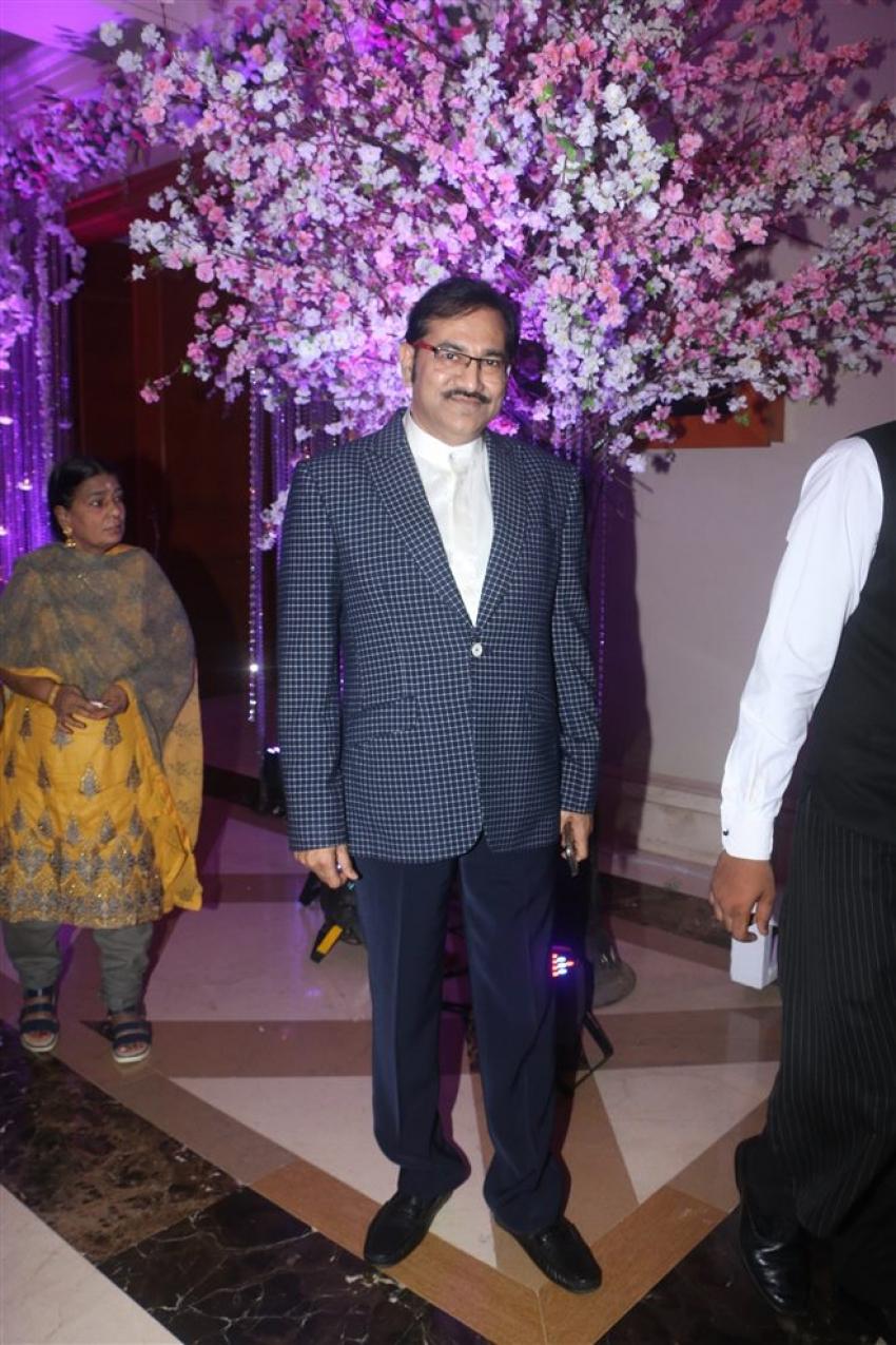 Celebs At Sidhant Kapoor's Wedding Reception At JW Marriott Photos