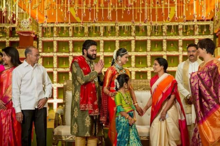 Superstar Family & Megastar Family attended a wedding Photos
