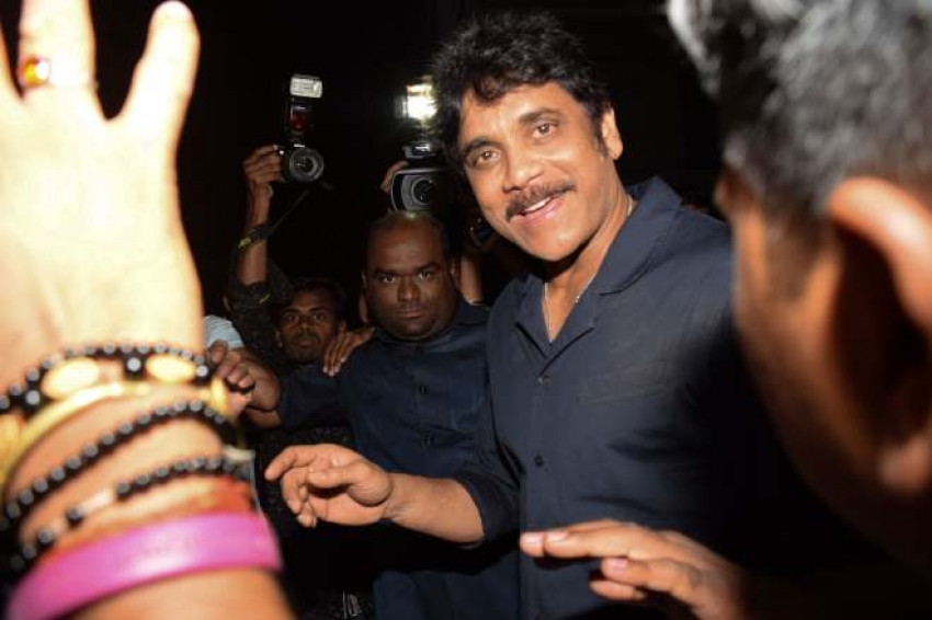 Telugu Superstar Nagarjuna Spotted At Estella In Juhu Photos