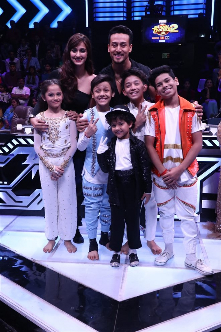 Baaghi 2 Movie Promotion On The Set Of Super Dancer Chapter 2 Photos