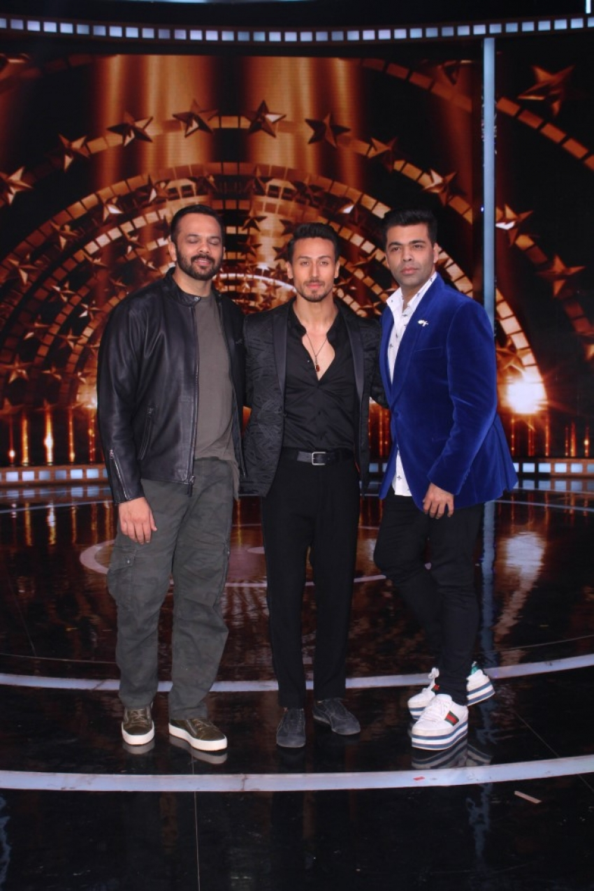 Tiger Shroff At India's Next Superstars Set Photos