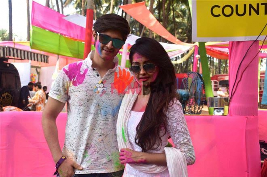 TV Celebs Holi Celebrations At Madh Island Photos