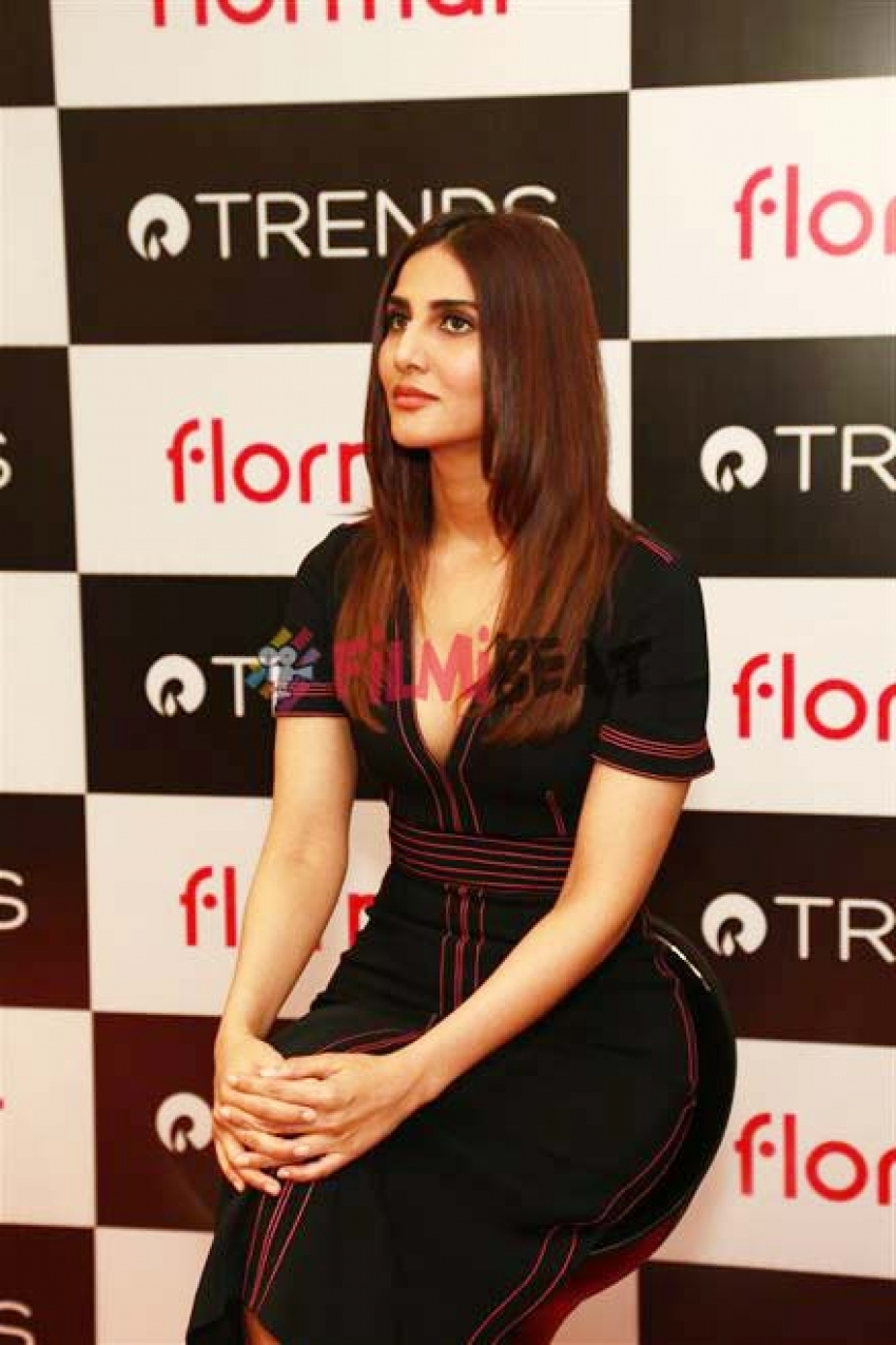 Vaani Kapoor At Launch Of Flomar From Reliance Trends In Gurugram Photos