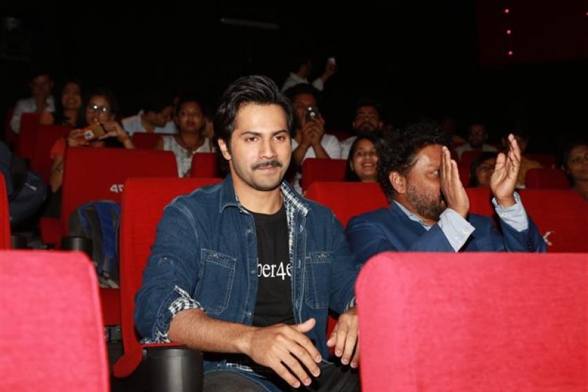 Varun Dhawan At Launch Of song Tab Bhi  From Upcoming Film October Photos