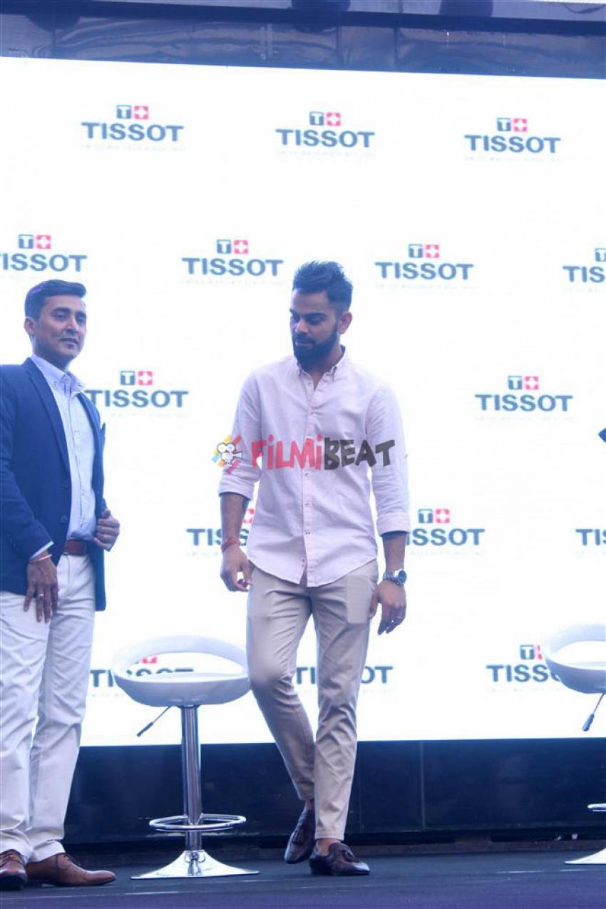 Virat Kohli New Brand Ambassador For Tissot Photos