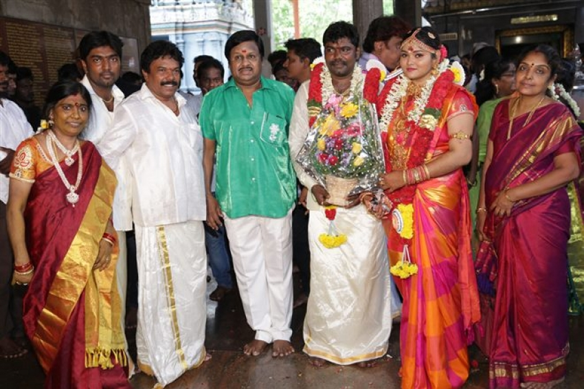 Actor Vijaya Jaguar Wedding Photos