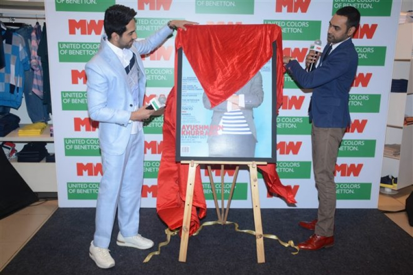 Ayushmann Khurrana Unveils Man Magazine Cover Issue April 2018