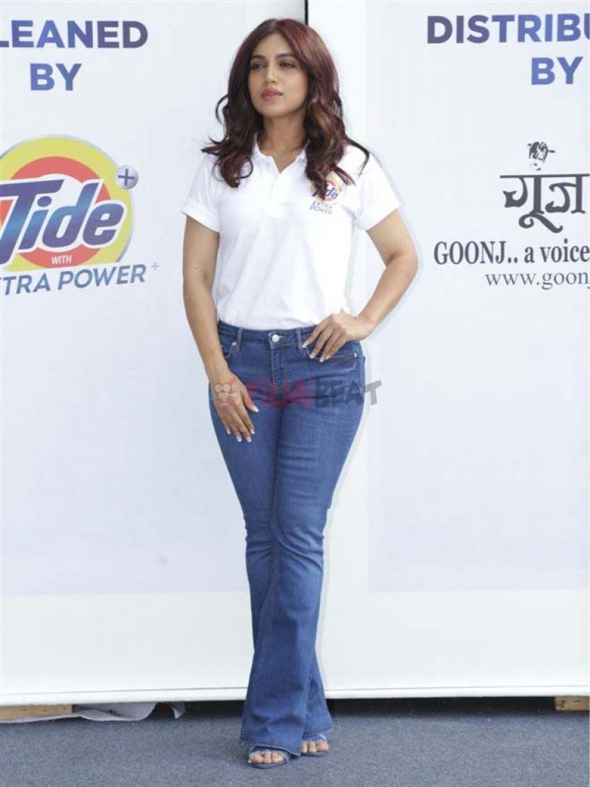 Bhumi Pednekar At Tide Launch Event In New Delhi Photos
