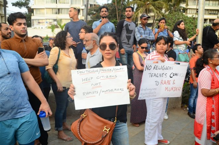 Bollywood Celebrities Protest For Asifa Justice Photos