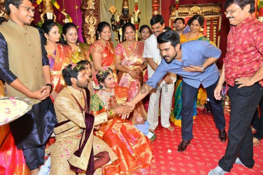 Boyapati Brother Daughter Wedding Photos