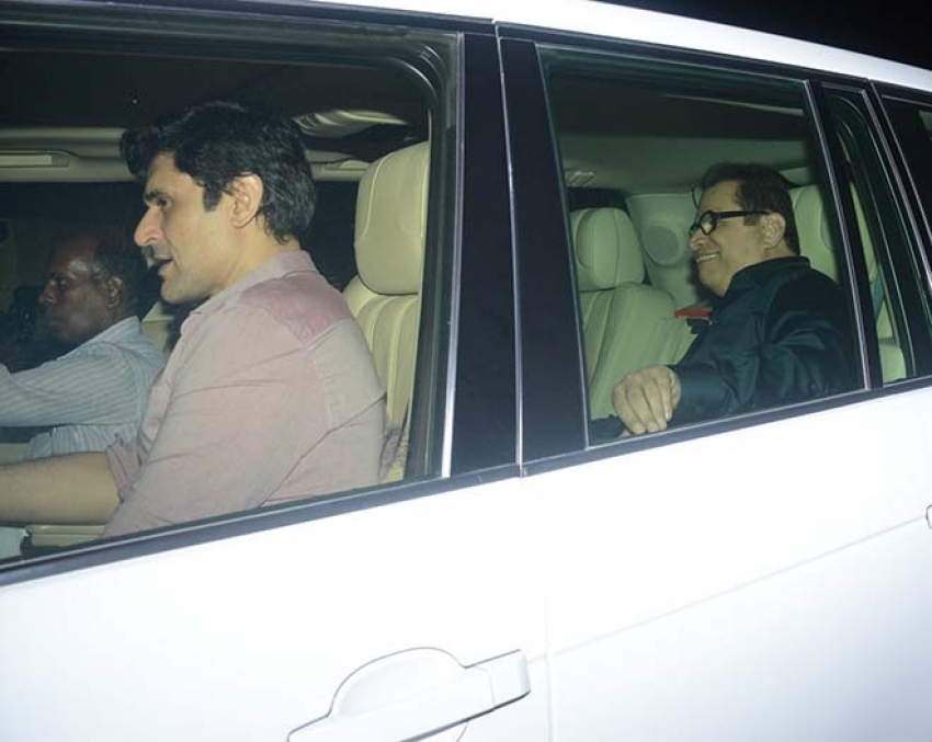 Celebs Spotted At Salman Khan House Photos