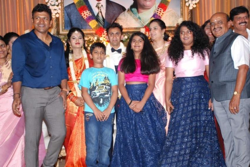 Dr.Rajkumar Grandson Reception Pictures Photos
