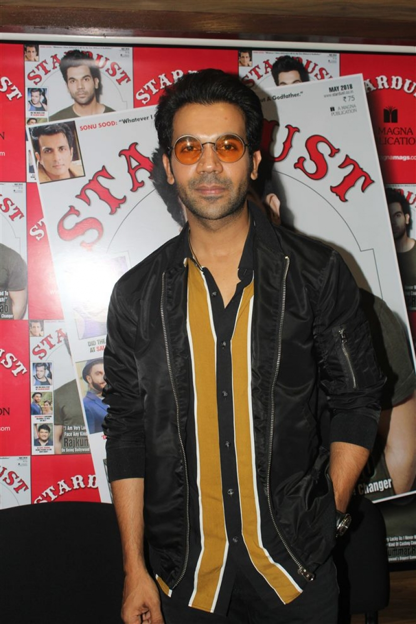 Grand Unveiling Of Stardust Magazine 2018 By Rajkumar Rao Photos