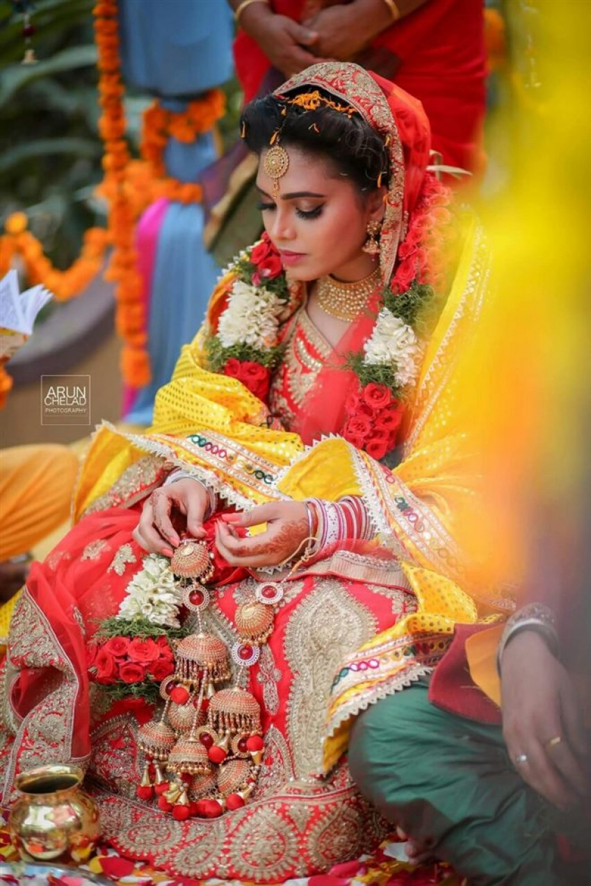 Ishara Nair & Sahil Wedding Photos