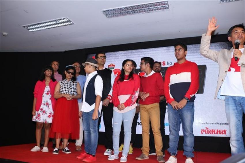 Karan Johar Launch Isspeshal Band Photos
