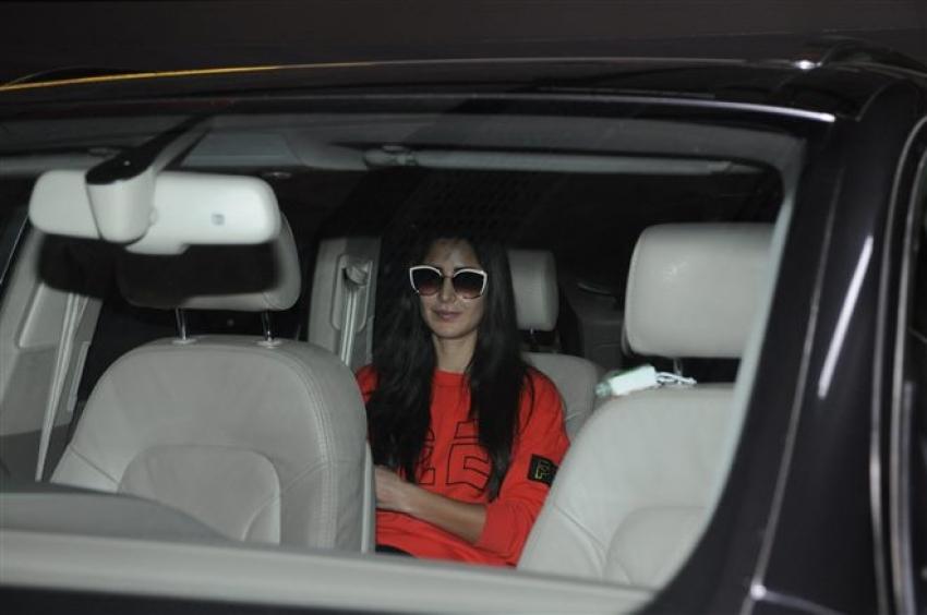 Katrina Kaif And Isabella Spotted At Airport Photos