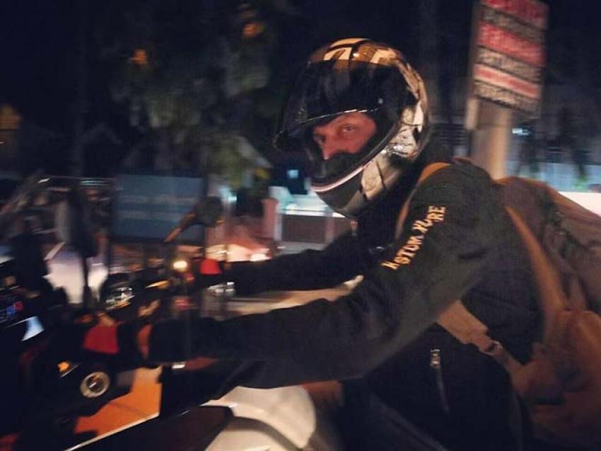 Kichcha Sudeep New BMW R1200 Super Bike Photos