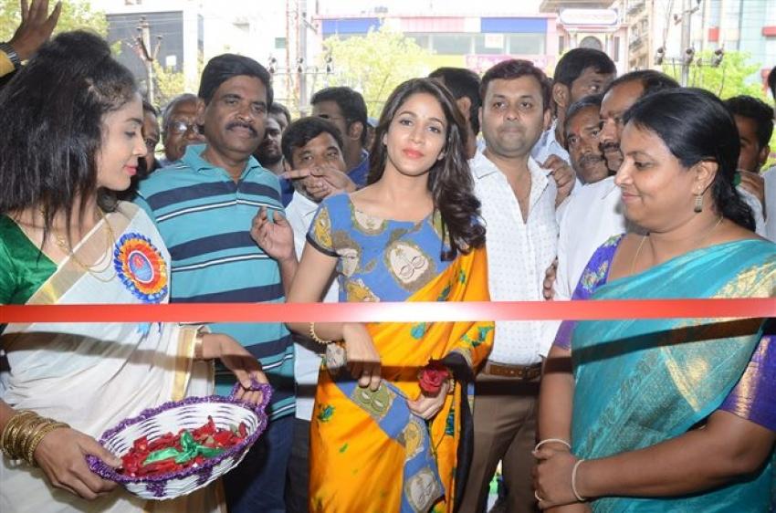 Lavanya Tripati Launches Arihant Fashion World At AS Rao Nagar Photos