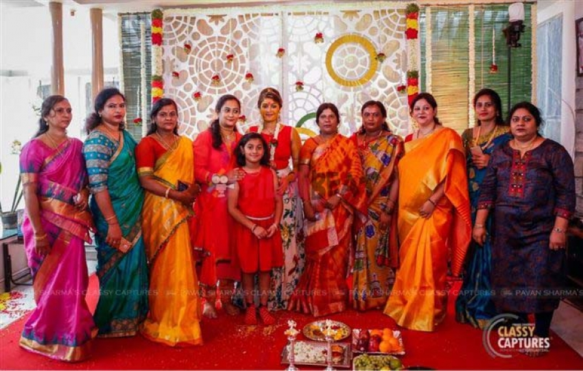 Meghana Raj Mehendi Ceremony Photos
