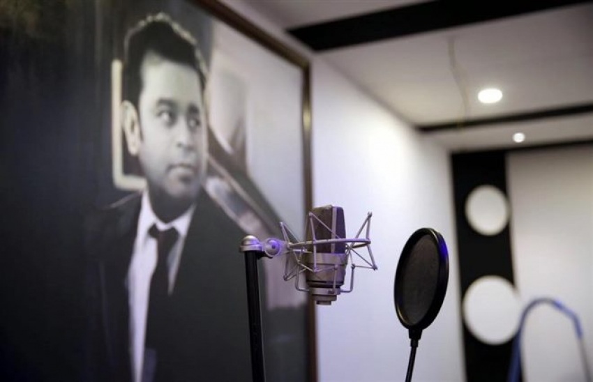Music Director Arjun janya's New Studio Photos