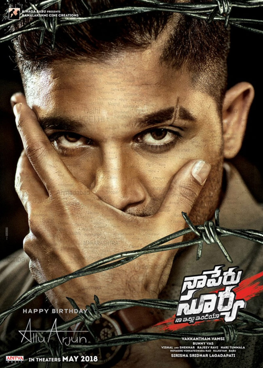 Naa Peru Surya Photos Hd Images Pictures Stills First Look