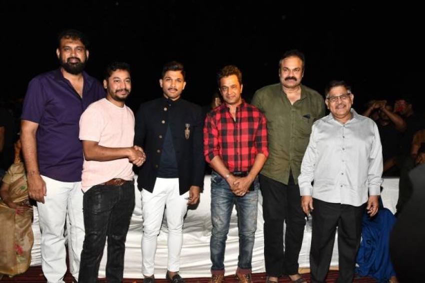 Naaperu Surya Movie Pre Release Function Photos