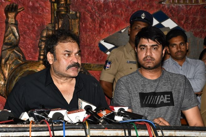 Nagababu Pressmeet About Film Industry & Casting Couch Issues Photos