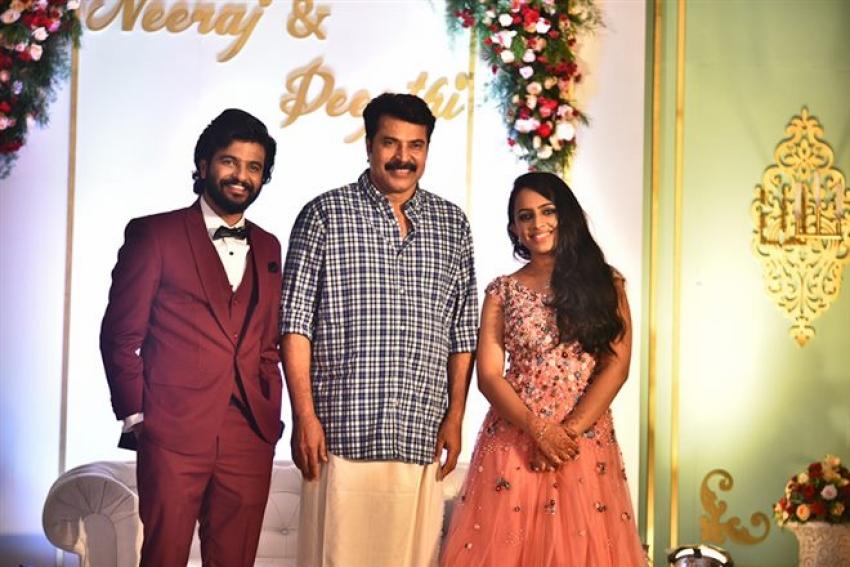 Neeraj Madhav Wedding Reception Photos