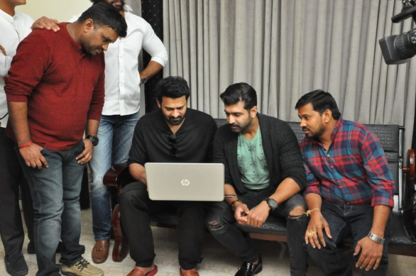 Prabhas Launched Crime 23 Movie Trailer Photos