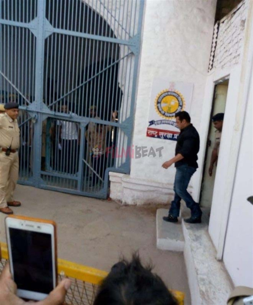 Salman Khan In Police Custody After Convicted In Blackbuck Poaching Case Photos