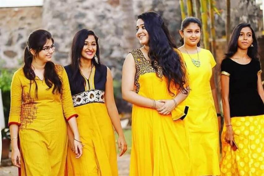 Samskruthy Shenoy Mehndi Celebration Photos