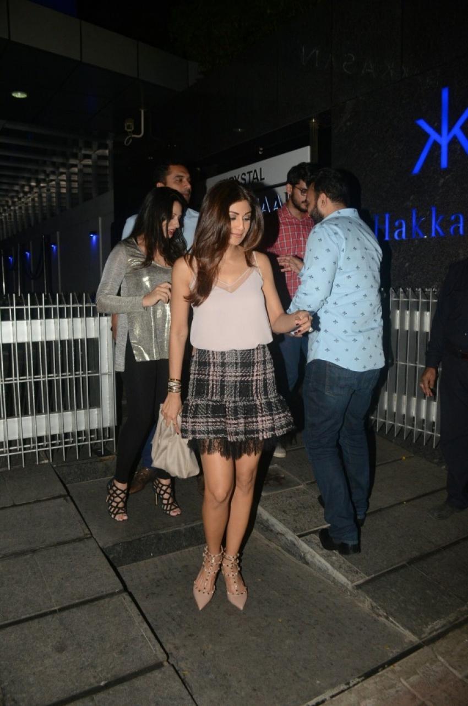 Shilpa Shetty At Hakkasan Photos