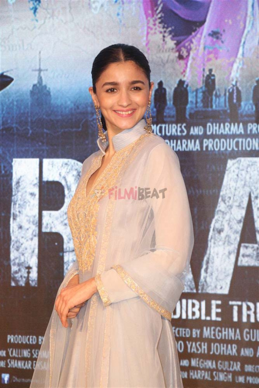 Song Launch Of Raazi With Alia Bhatt Photos
