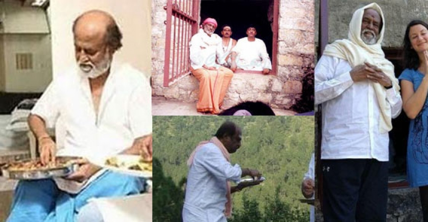 Thalaivar Rajinikanth Simplicity in Real Life Photos