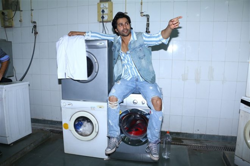 Varun Dhawan Turns A Hotel Employee In Real Life Photos