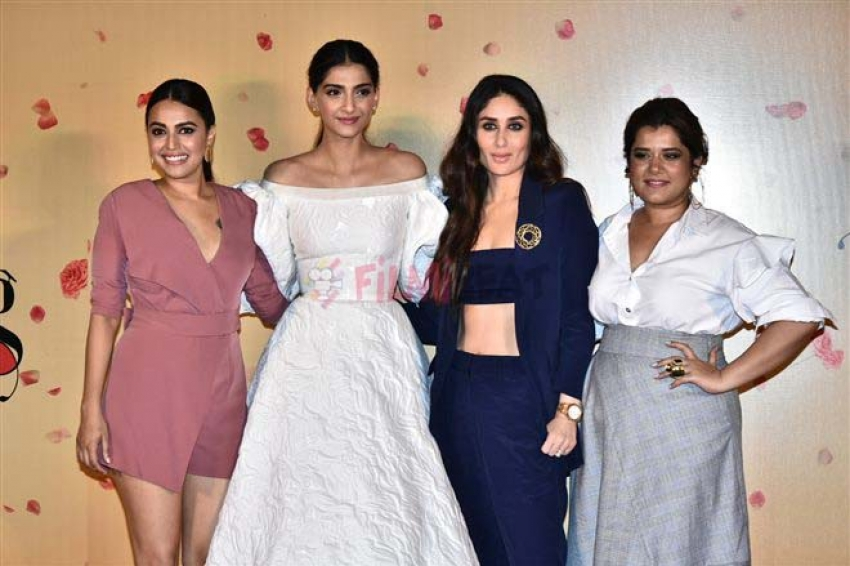Veere Di Wedding Trailer.Veere Di Wedding Trailer Launch Photos Filmibeat