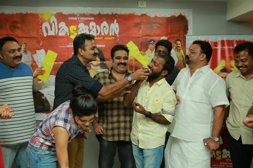 Vikatakumaran Movie Victory Celebration