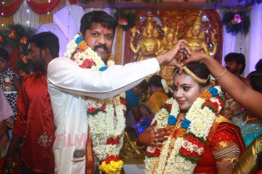 Actor Soundararaja Marries Tamanna Photos