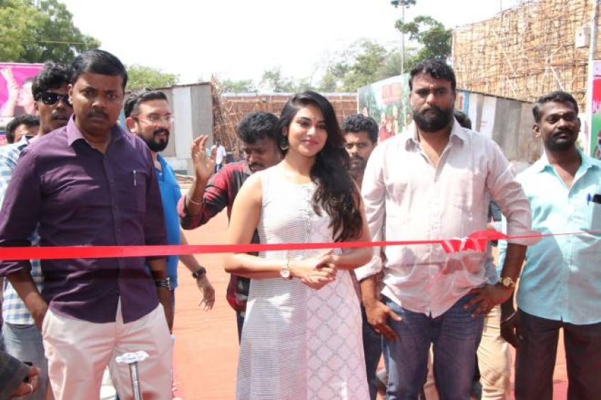 Actress Indhuja Inauguration Water World Photos