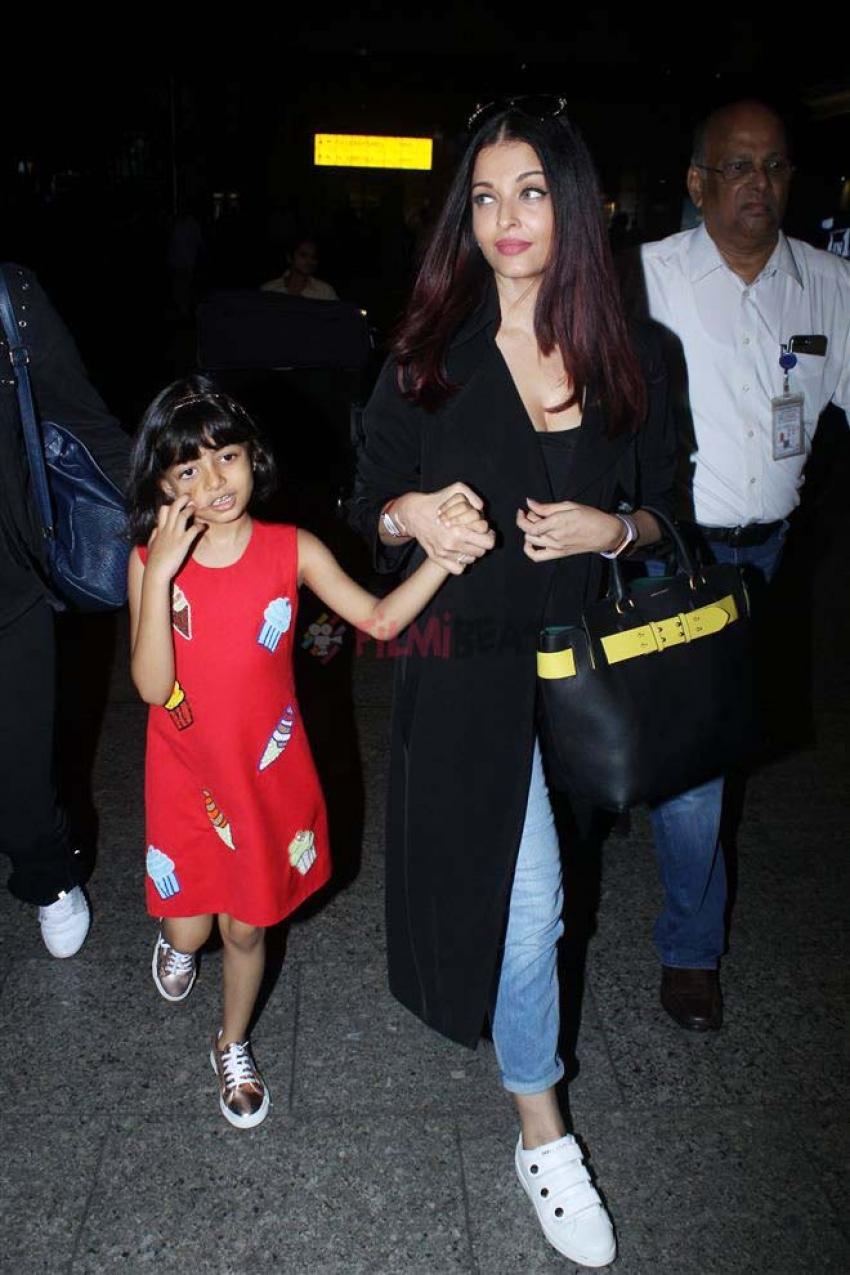 Aishwarya Rai Bachchan Returns From Cannes 2018