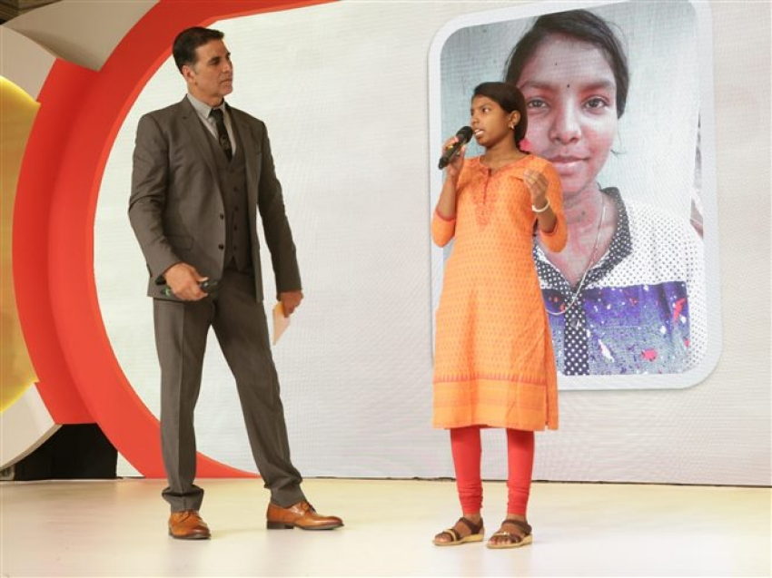 Akshay Kumar At Menstrual Awareness Conclave In New Delhi Photos
