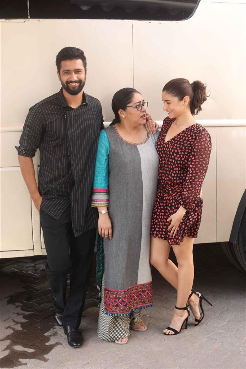Alia Bhatt Promote Raazi At Mehboob Studio Photos