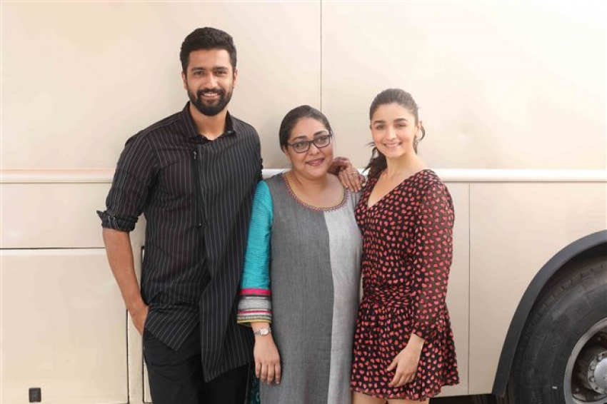 Alia Bhatt Promote Raazi At Mehboob Studio Photos