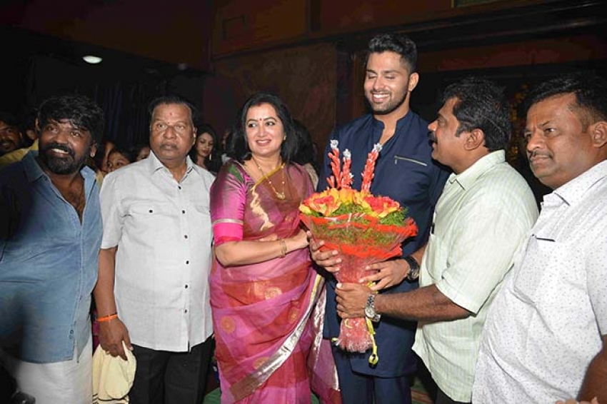 Ambareesh Son's Amar Movie Muhurat Photos