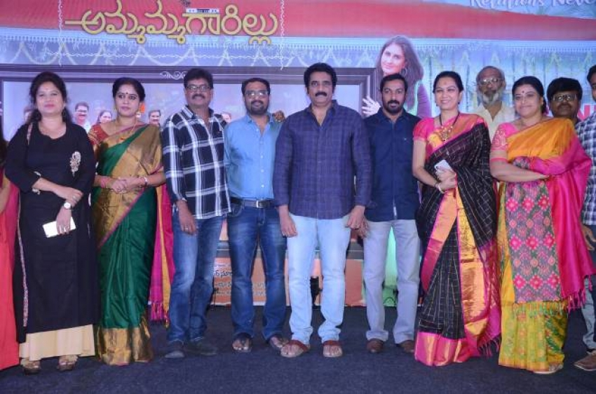 Ammammagarillu  Success meet Photos