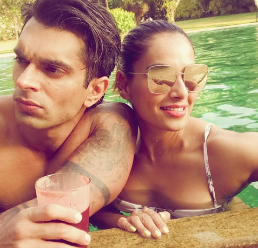 Bipasha Basu & Karan Singh Grover Celebrate Anniversary In Goa Photos