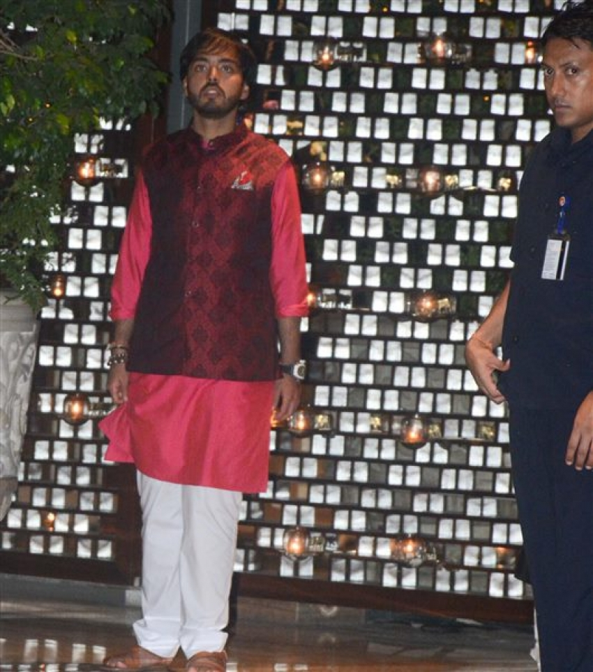 Celebs At Isha Ambani's Engagement Party Photos