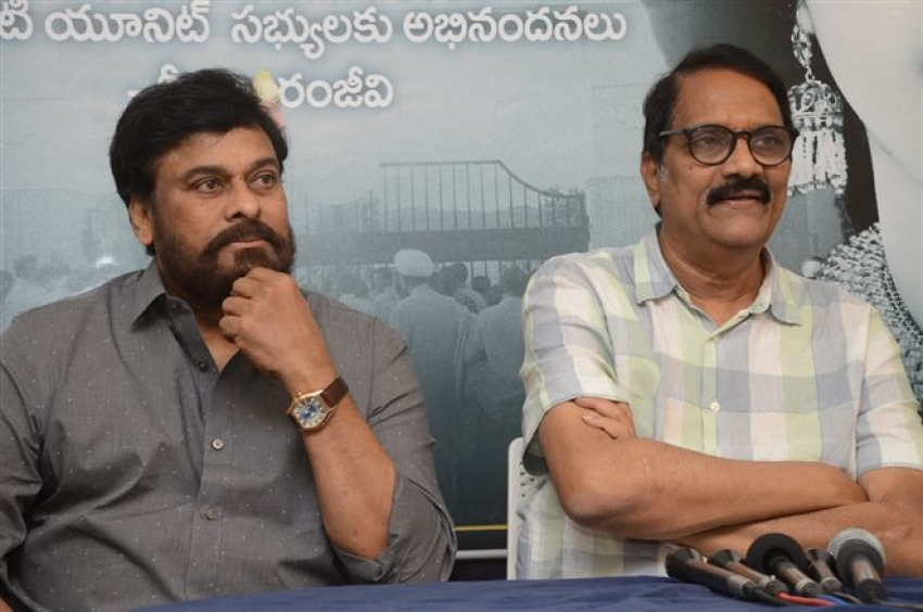 Chirnajeevi Felicitated Mahanati Photos