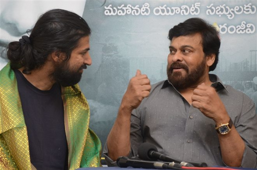 Chirnajeevi Felicitated Mahanati Photos