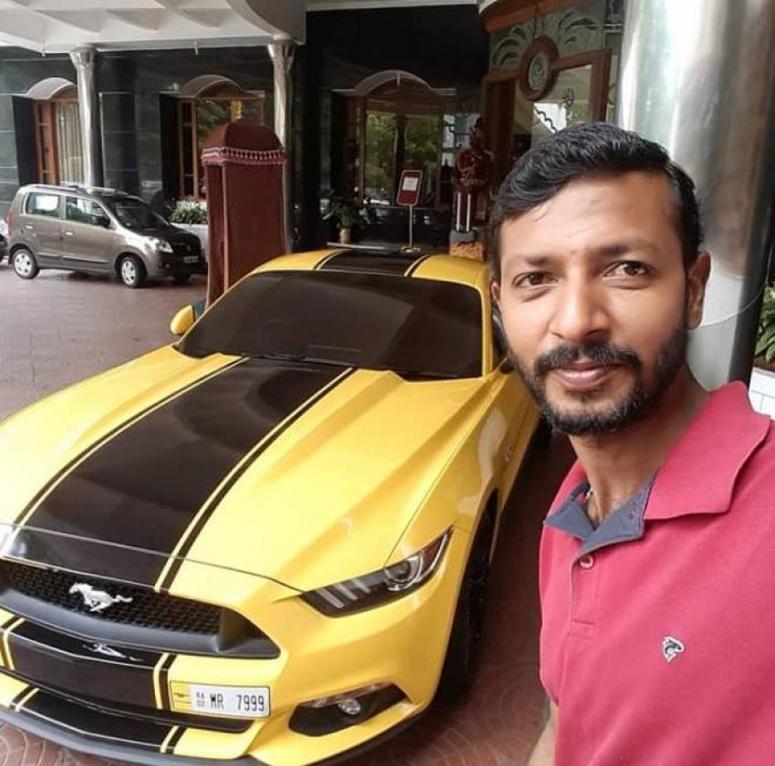 Darshan New Car Ford Mustang Boss 302 Photos